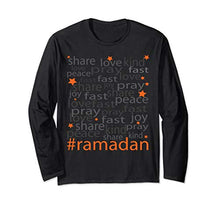 Load image into Gallery viewer, Sweet Moon -The Ramadan Spirit- Long Sleeve T-Shirt