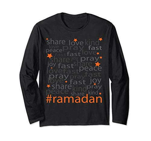 Sweet Moon -The Ramadan Spirit- Long Sleeve T-Shirt