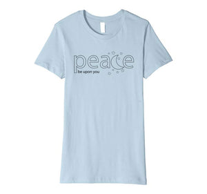 Sweet Moon - Peace be Upon You - Ramadan Premium T-Shirt