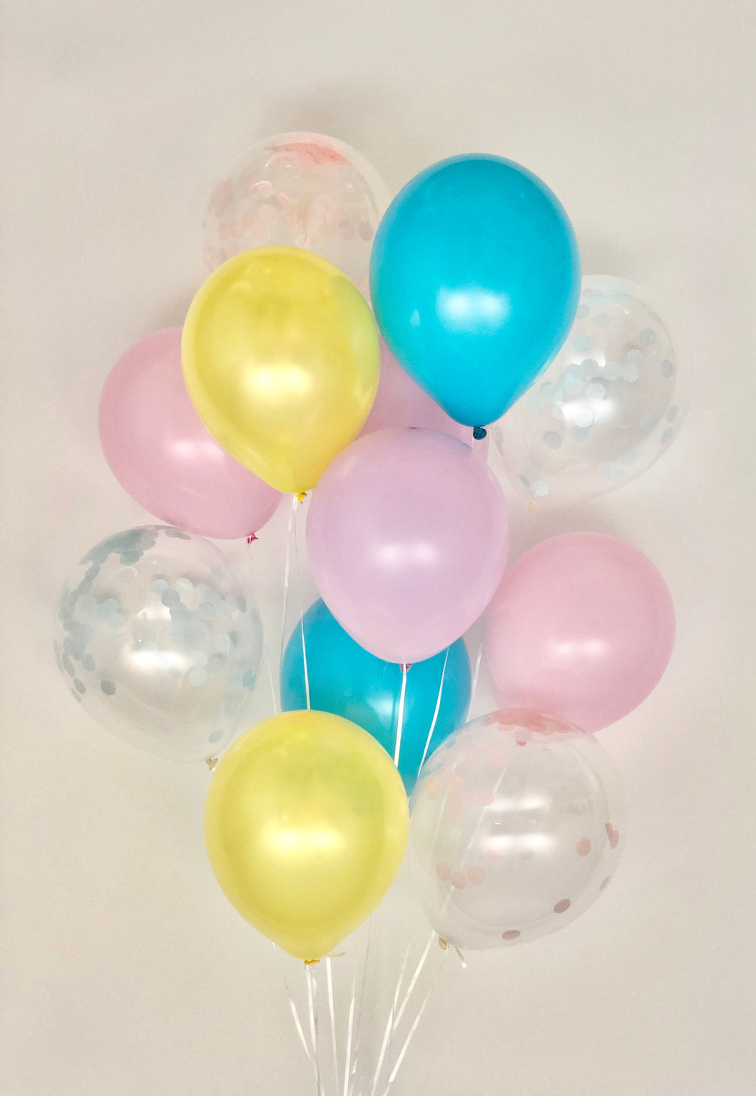 Sweet Moon 12 Piece Latex Balloons Bouquet (Colorful)