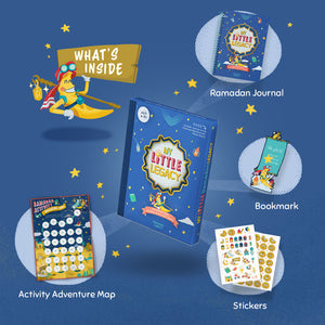 My Little Legacy: Ramadan Kids Journal & Activity Book (FREE SHIPPING IN THE US)