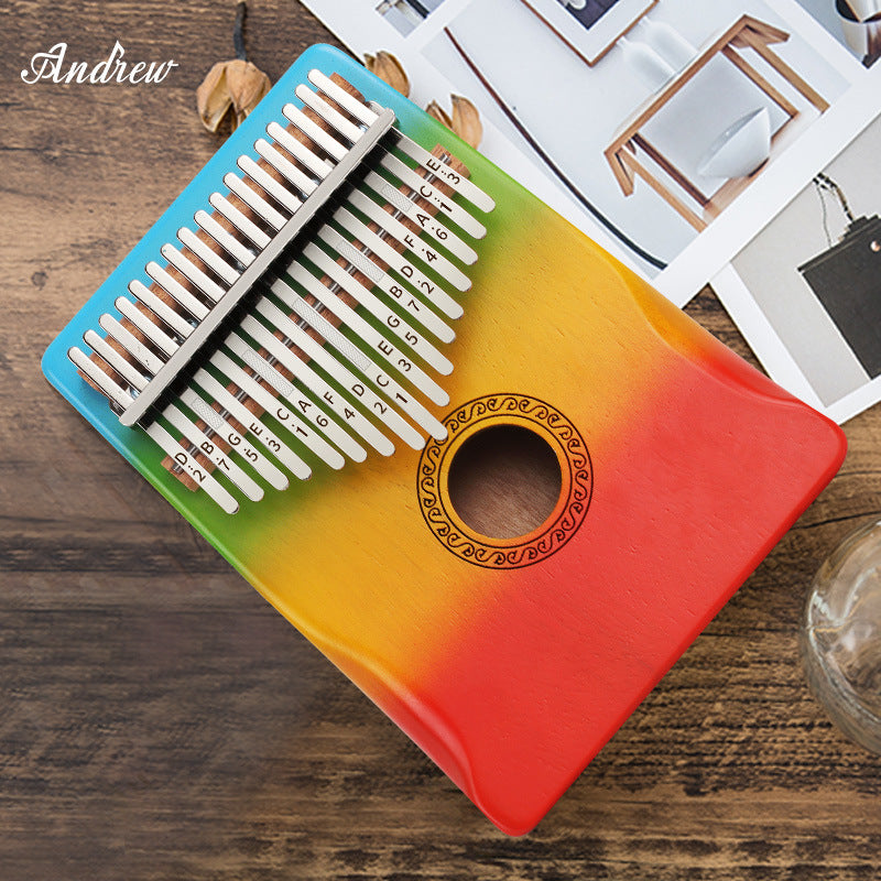 「Christmas and New Year Gifts」-Portable Thumb Piano- Gorgeous 17 Keys Kalimba instrument