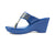 CONSTELLATION BLUE KOLHAPURI WEDGES