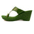 CONSTELLATION GREEN KOLHAPURI WEDGES
