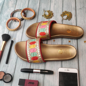 obsessive bronze sliders
