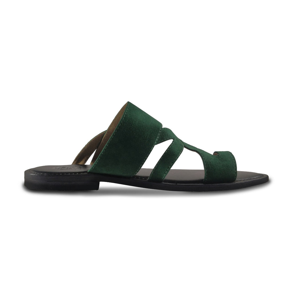 PRASINO Greek Sandals