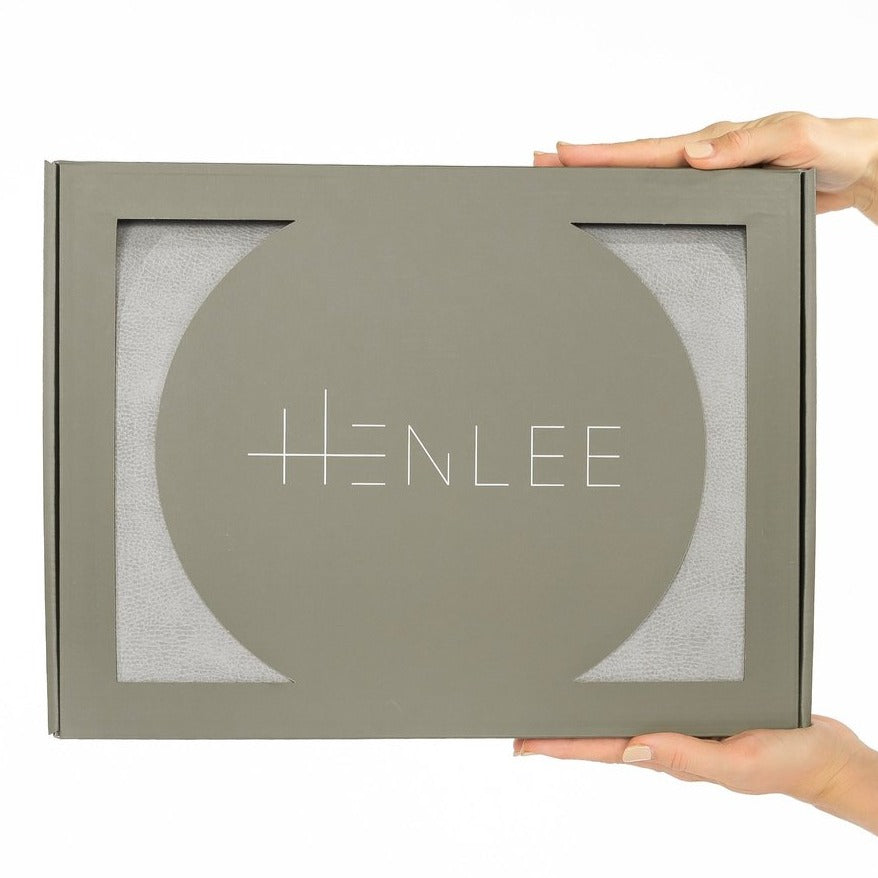 Henlee | Circle Nomad Mat | Stone | White Fox & Co