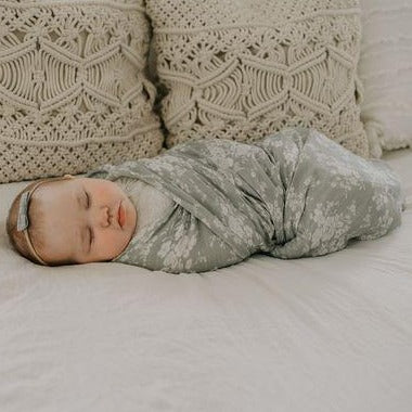 Swaddle | Vintage Bouquet Green