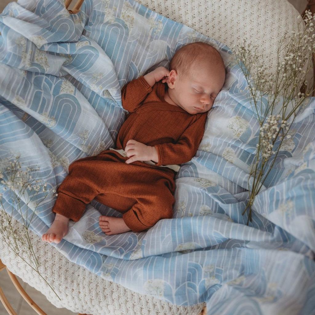 Snuggle Hunny Kids | Eventide | Organic Wrap | White Fox & Co