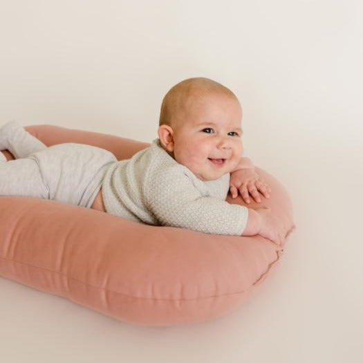 Snuggle Me Organic | Bare Lounger | Gumdrop | White Fox & Co