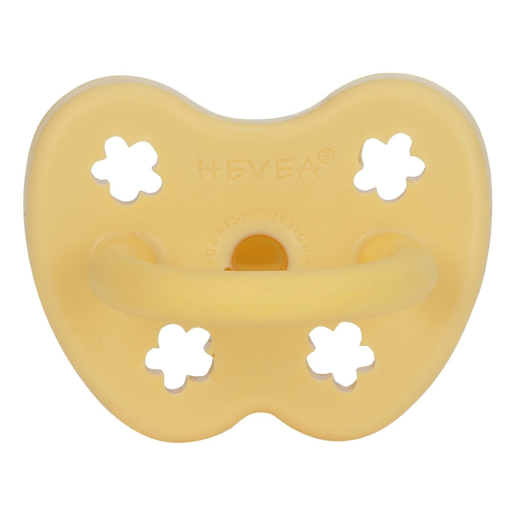 Hevea | Orthodontic Pacifier | Banana | White Fox & Co
