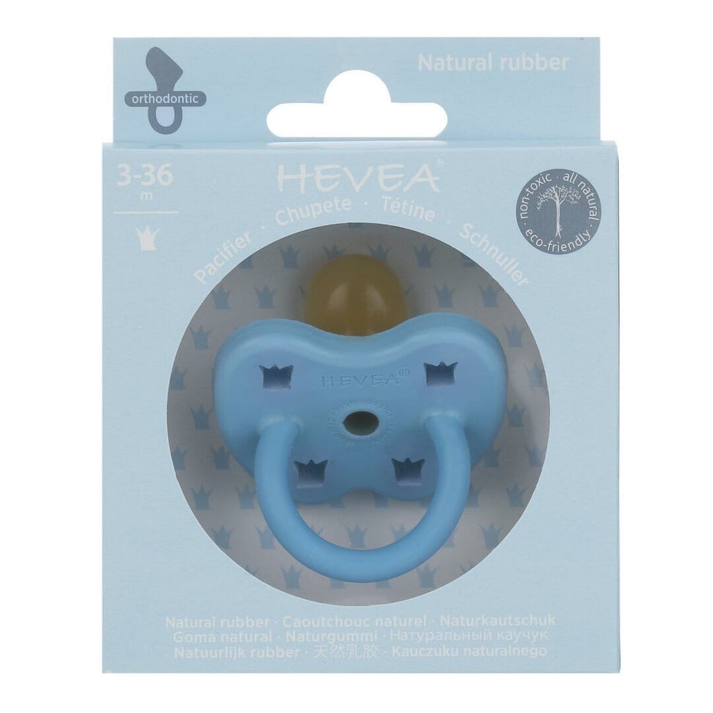 Hevea Dummy | Skye Blue | White Fox & Co