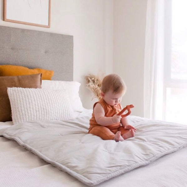 Pear Teether | Terracotta | My Little Giggles | White Fox & Co