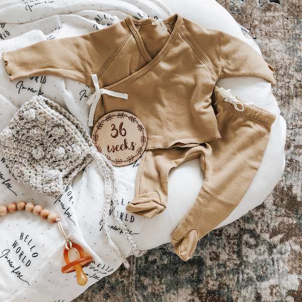 Hello Fern | Wreath | Milestone Discs | Pregnancy