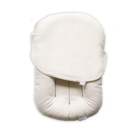 Snuggle Me Organic | Baby Lounger Ivory | White Fox & Co