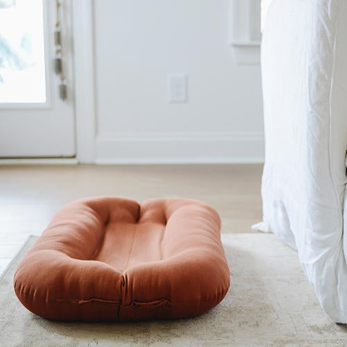 Snuggle Me Organic | Bare Lounger | Gingerbread | White Fox & Co
