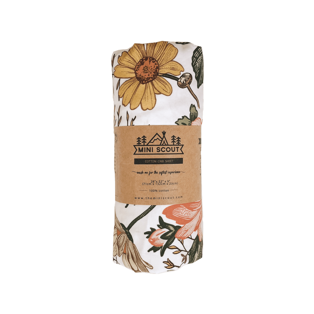 The Mini Scout | Swaddle | Garden Floral  | Amber