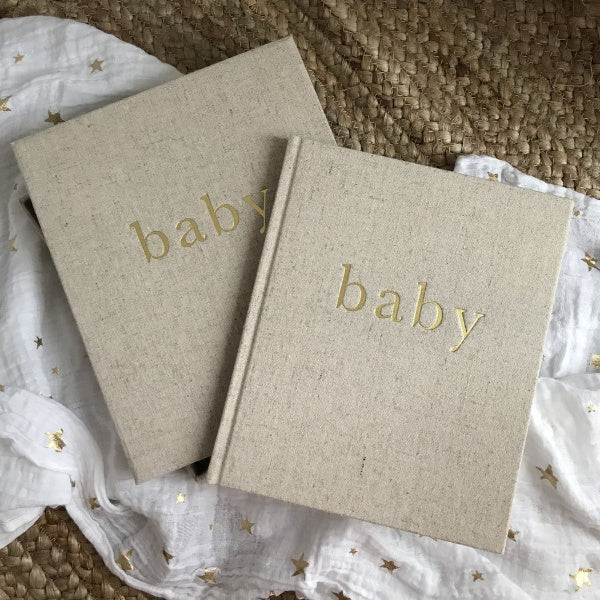 Write To Me | Baby Journal | First Year Of You | White Fox & Co