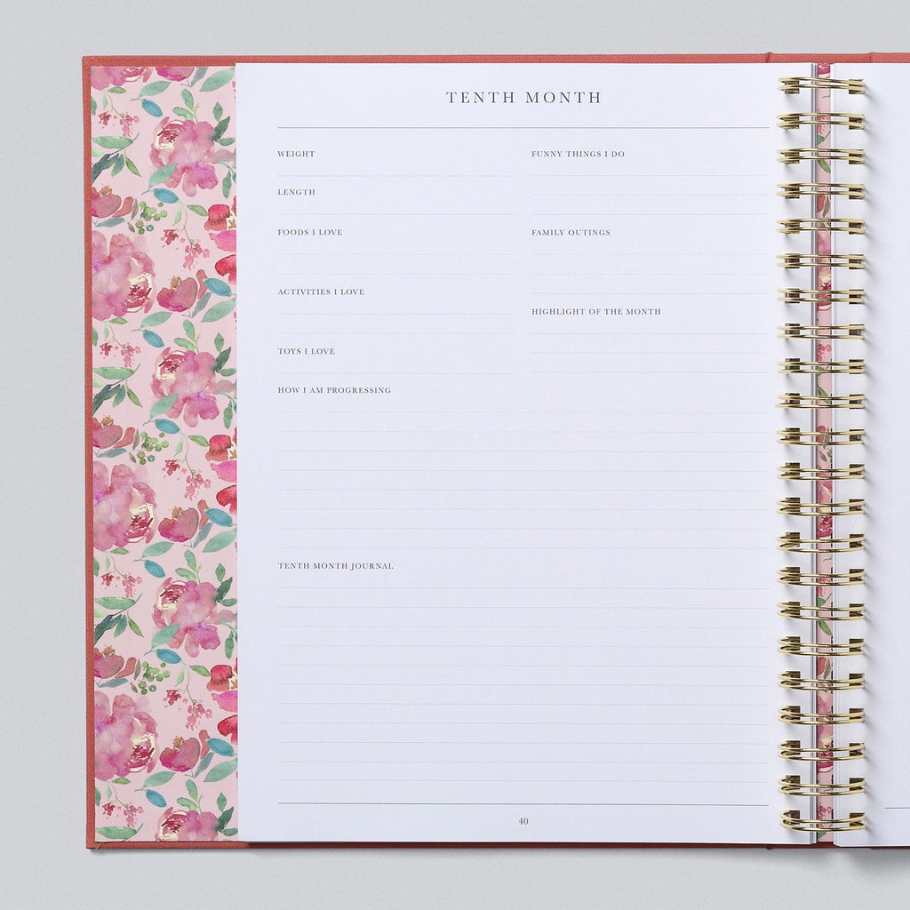 Write To Me | Baby Boxed Book | Blush | White Fox & Co