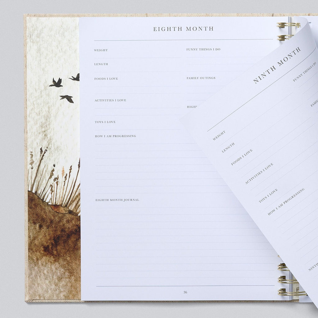Write To Me | Baby Boxed Book | Oatmeal | White Fox & Co