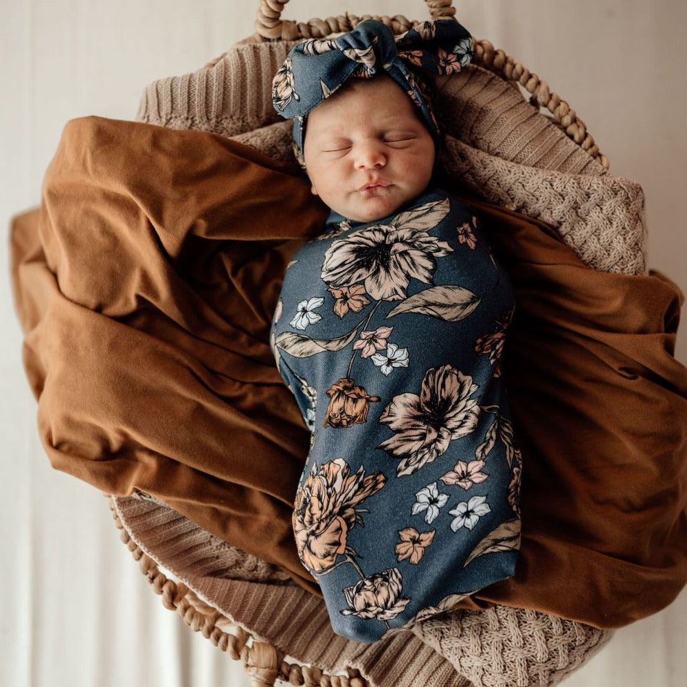 Snuggle Hunny Kids | Snuggle Swaddle | Belle | White Fox & Co