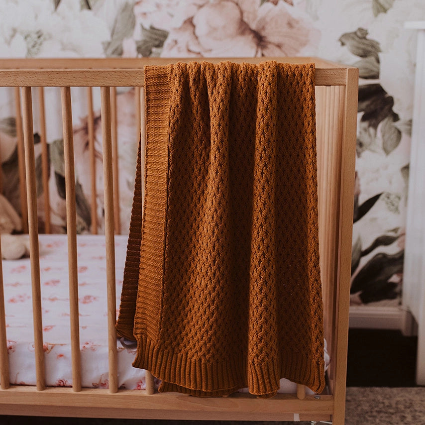 Snuggle Hunny Kids | diamond Knit | Bronze | White Fox & Co