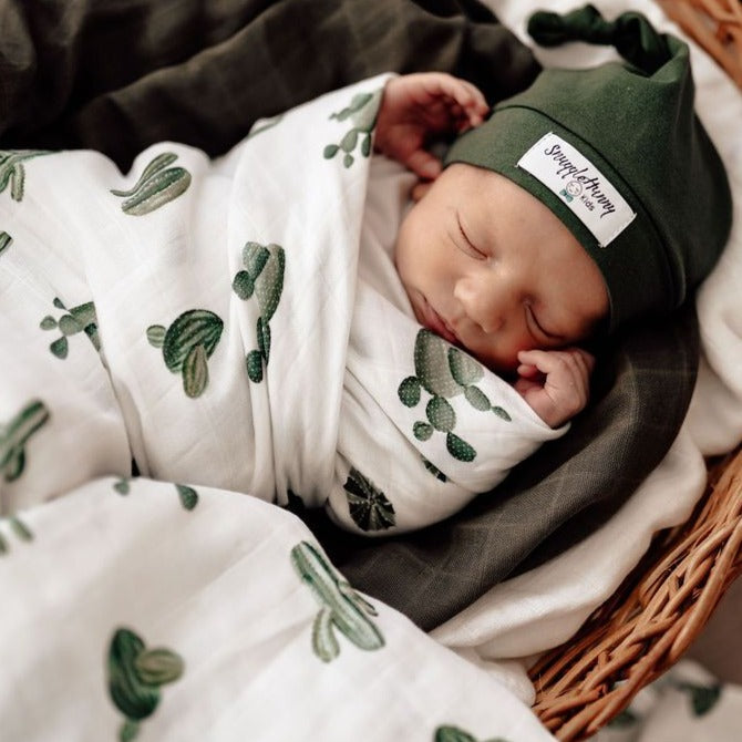 Snuggle Hunny Kids | Cactus | Organic Wrap | White Fox & Co