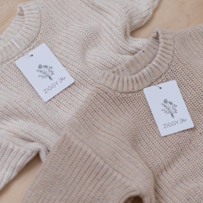 Caramel Fleck | Jumper | Ziggy Lou | White Fox & Co