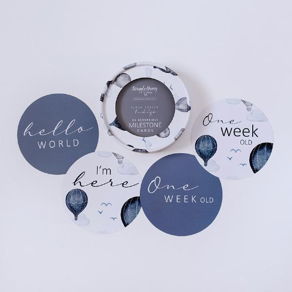 Snuggle Hunny Kids | Cloud Chaser Milestone Discs | White Fox & Co