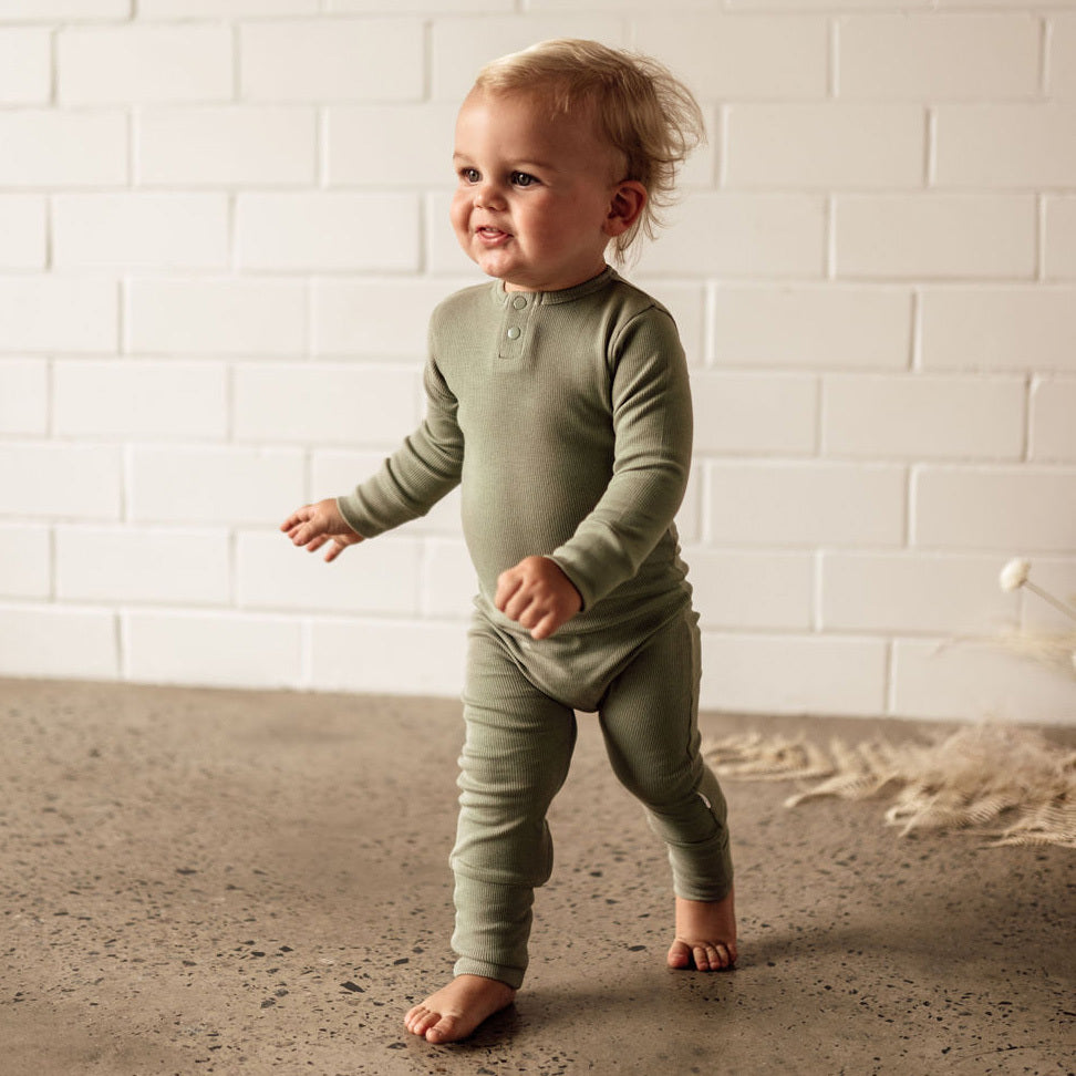 Snuggle Hunny Kids | Dewkist Growsuit | White Fox & Co