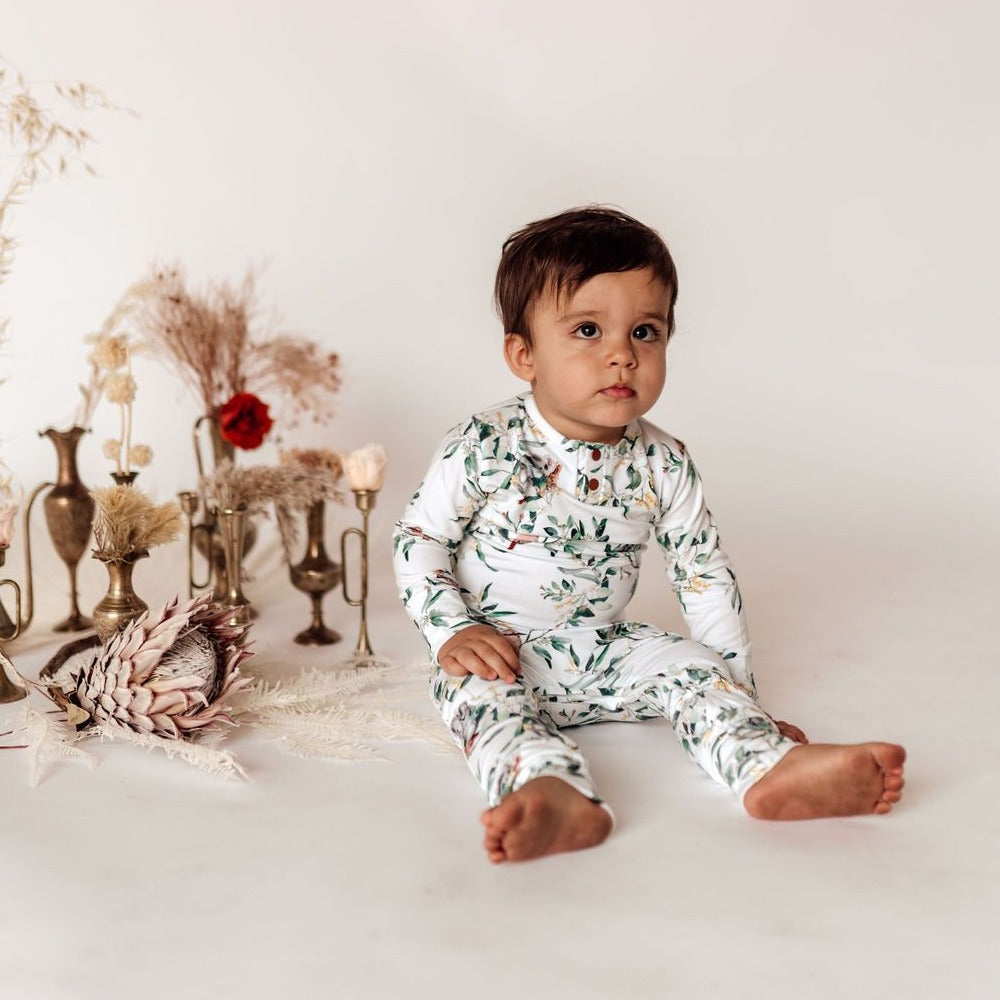 Snuggle Hunny Kids | Growsuit | Eucalypt | White Fox & Co