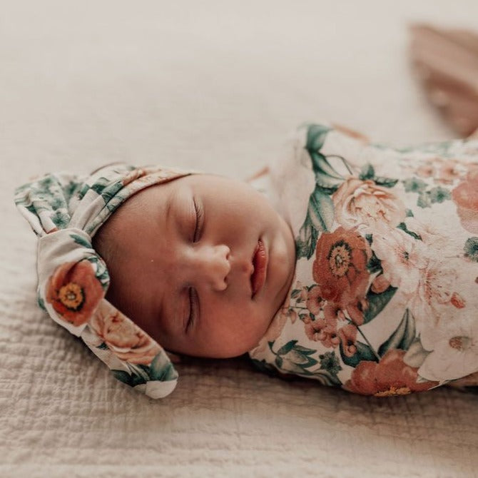 Snuggle Hunny Kids | Snuggle Swaddle | Florence | White Fox & Co