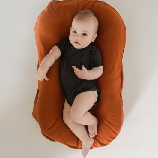 Snuggle Me Organic | Infant Lounger Bundle | Gingerbread | White Fox & Co