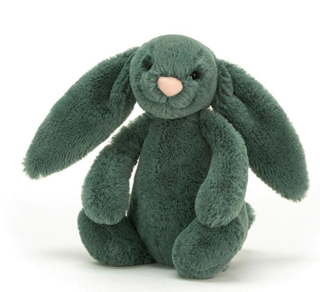 Jellycat | Bashful Bunny | Forest Small | White Fox & Co