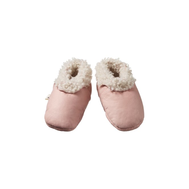 Nature Baby | Lambskin Booties | Rose Bud | White Fox & Co