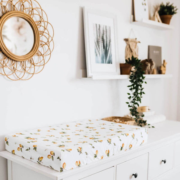 Bassinet Sheet | Lemon