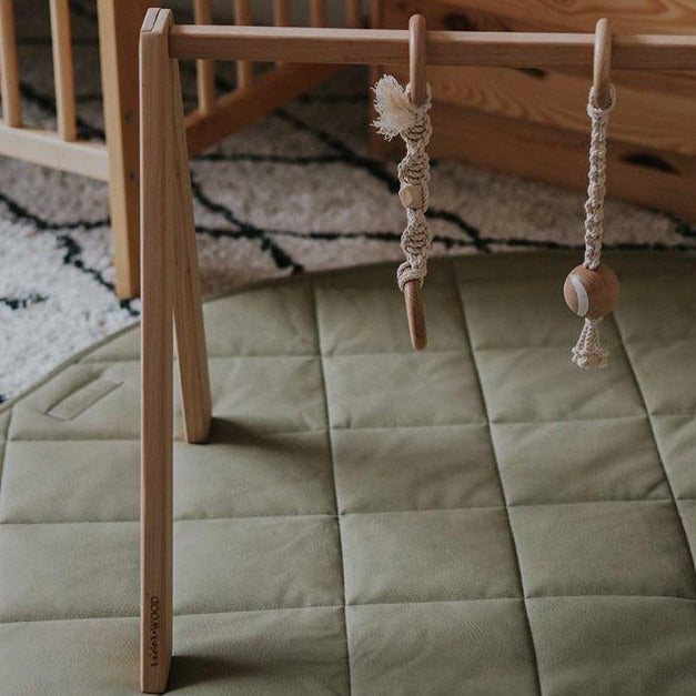Henlee | Play Mat | Sage | White Fox & Co