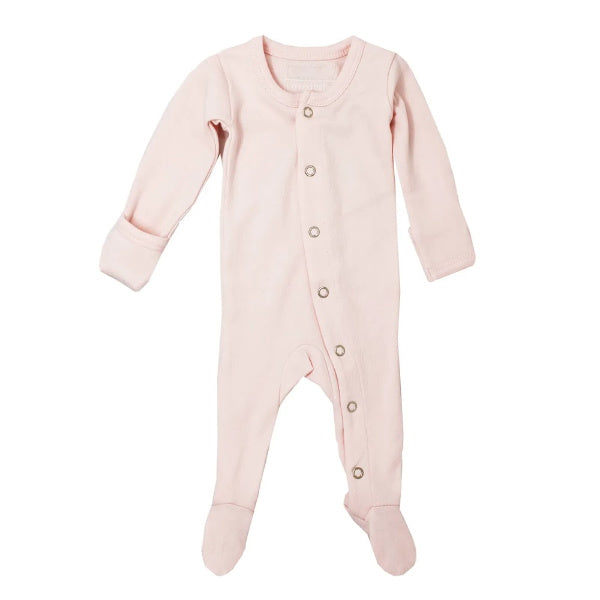 L'oved Baby | Organic Jumpsuit | Footed Overall | Blush | White Fox & Co