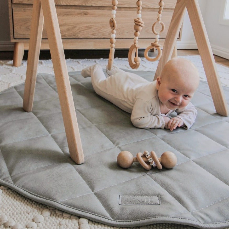 Henlee | Play Mat | Stone | White Fox & Co