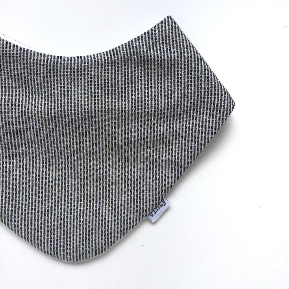 Vinty Dribble Bib | Linesy | Available online at White Fox & Co