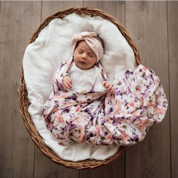 Snuggle Hunny Kids | Organic Wrap | Blushing Beauty | White Fox & Co