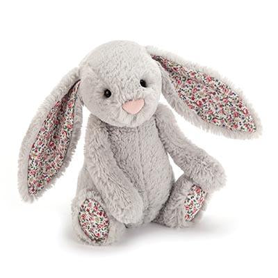 Jellycat | Bashful Bunny | Blossom Silver Medium | White Fox & Co