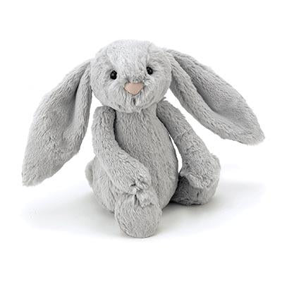 Jellycat | Bashful Bunny | Silver Medium | White Fox & Co