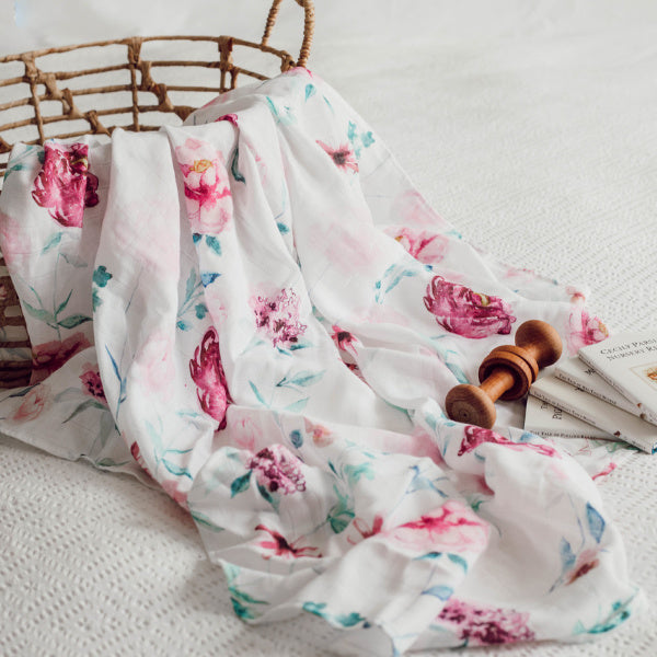 Snuggle Hunny Kids | Organic Muslin Wrap | Wanderlust | White Fox & Co