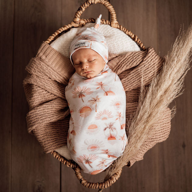 Snuggle Hunny Kids | Snuggle Swaddle | Paradise | White Fox & Co
