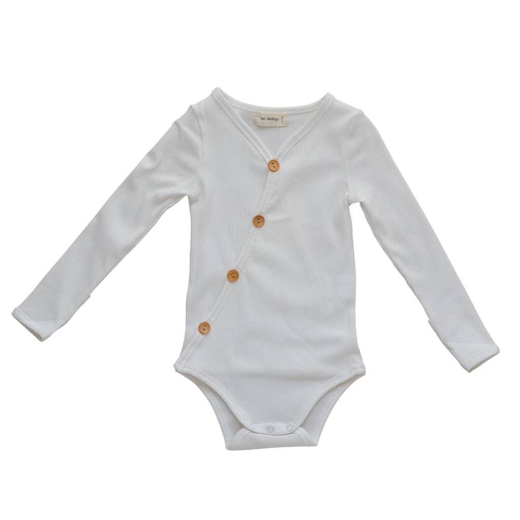 Two Darlings | Bodysuit | Milk | White Fox & Co
