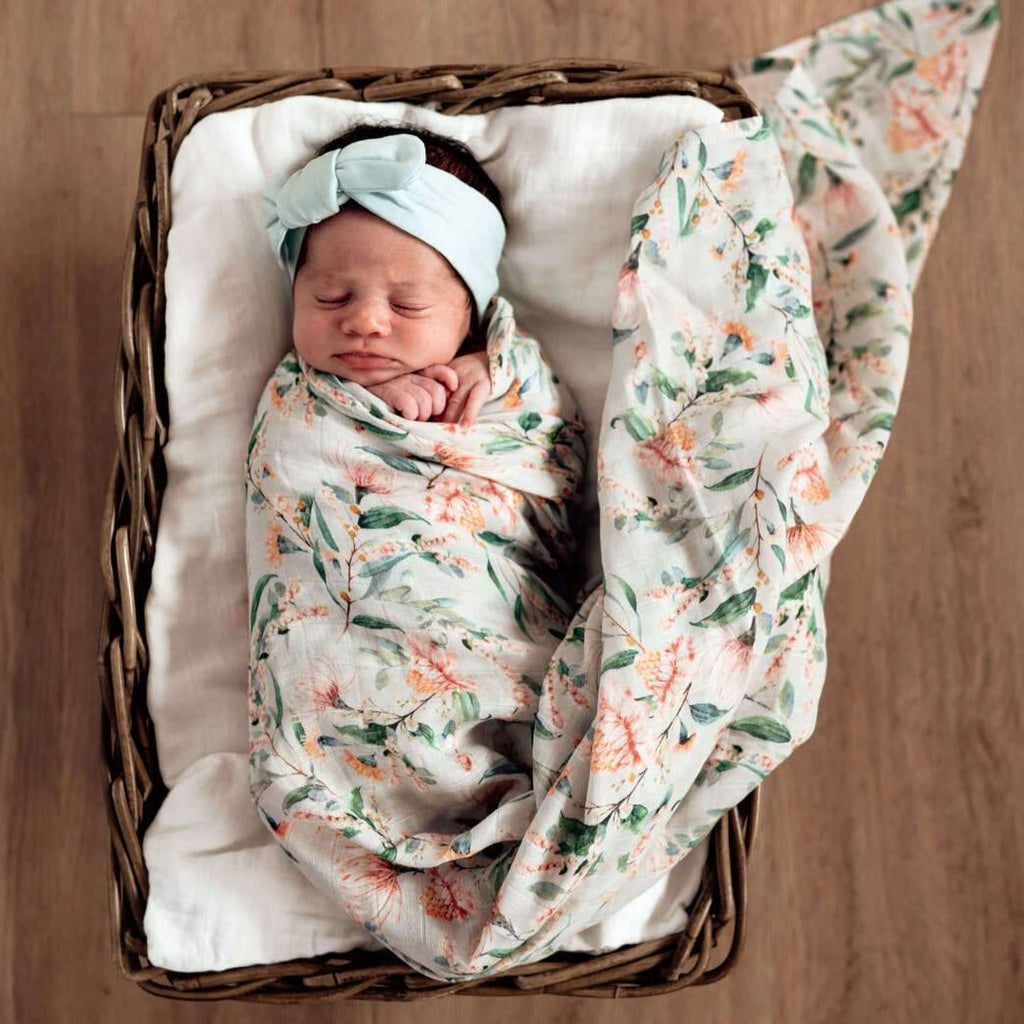 Snuggle Hunny Kids | Organic Wrap | Wattle | White Fox & Co