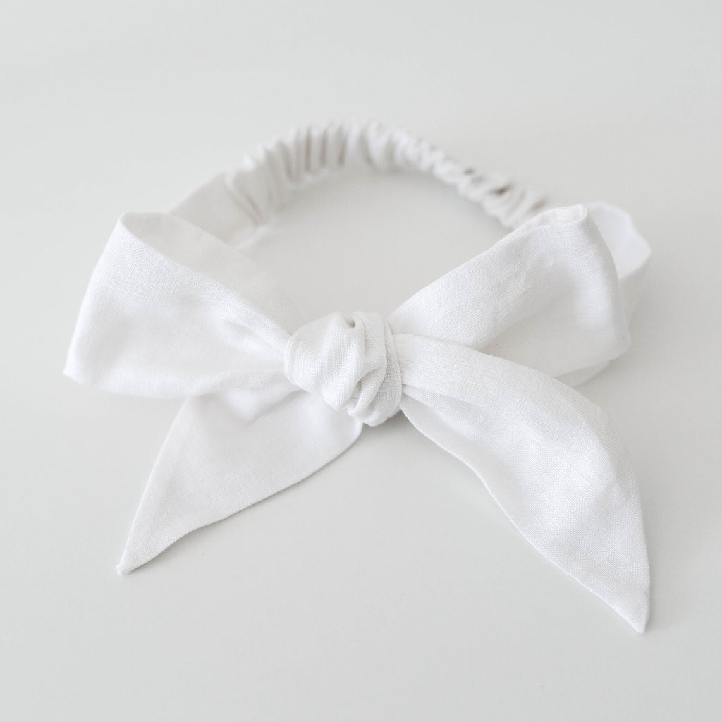 Snuggle Hunny Kids | Topknot White | White Fox & Co