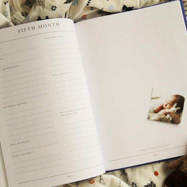 Write To Me | Baby Journal | First Five Years | White Fox & Co