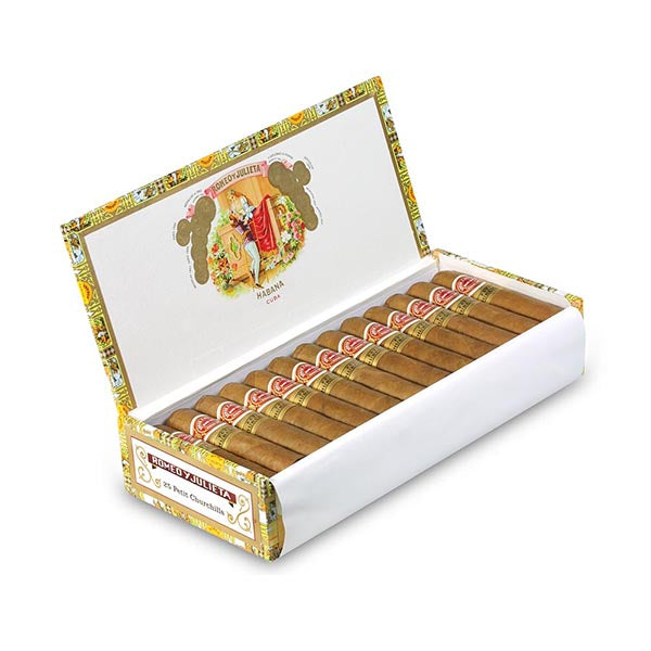 罗密欧 · 朱丽叶 小丘吉尔 (Romeo y Julieta Petit Churchills) 25s
